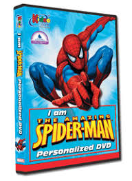 Photo Personalized Spiderman™ Cartoon DVD Movie - The Lollipop Guild