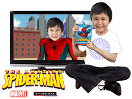 Photo personalized kids cartoon dvd Spiderman