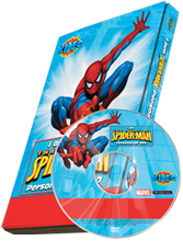Load image into Gallery viewer, Photo Personalized Spider-man Cartoon DVD