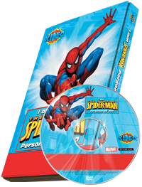 Photo Personalized Spider-man Cartoon DVD