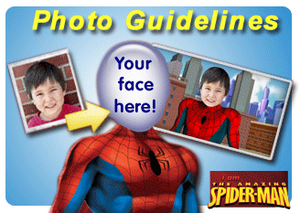 Spiderman personalized cartoon dvd for kids