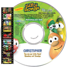 Load image into Gallery viewer, Personalized Veggie Tales™ Music DVD - The Lollipop Guild