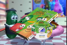 Load image into Gallery viewer, Veggie Tales Personalized Video Silly Songs dvd
