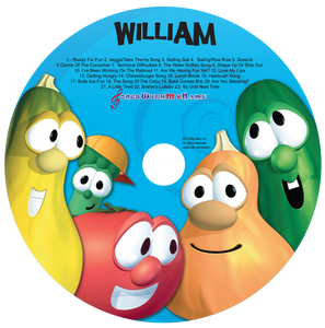 Personalized Veggie Tales™ Silly Songs Music CD - The Lollipop Guild
