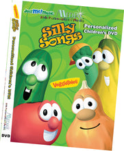 Load image into Gallery viewer, Personalized Veggie Tales Music Video DVD