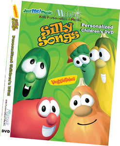 Personalized Veggie Tales Music Video DVD