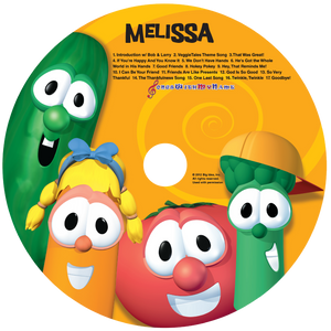 Personalized Veggie Tales™ Music CD