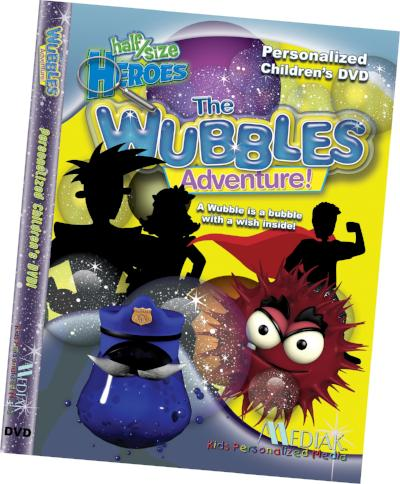 Personalized Wubbles Music DVD