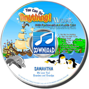 You Can Do Anything Personalized Music Digital Download