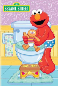 Sesame Street™ Bye Bye Diapers Elmo Personalized Book - The Lollipop Guild