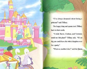 Read Ballerina Princess Personalized Book