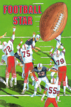 Football Star Personalized Book - The Lollipop Guild