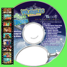 Load image into Gallery viewer, Personalized Wubbles Music DVD - The Lollipop Guild