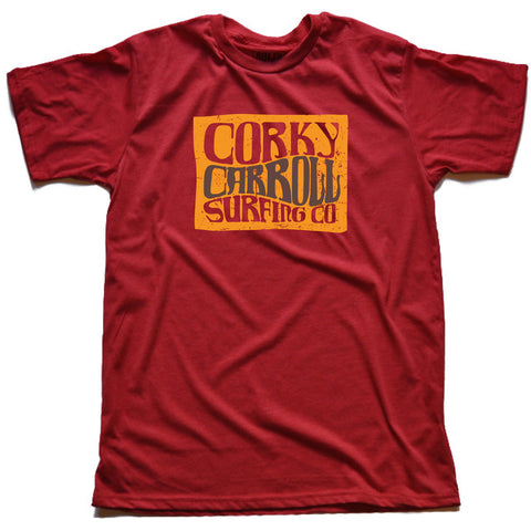 Corky Carroll Surf Co Tee 2012 (Red)