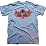 Corky Carroll Winged Crest Tee (Blue)