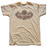 Corky Carroll Winged Crest Tee (Nude)