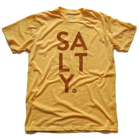 SALTY Tee (Gold)