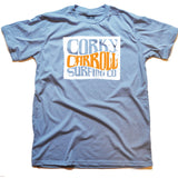 Corky Carroll Surf Co Tee 2012 (Blue)