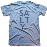SALTY Tee (Lt Blue)