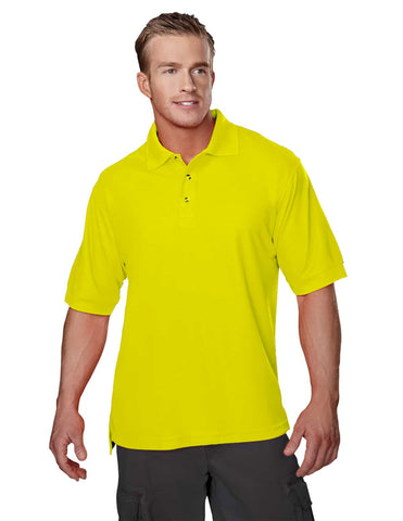 Men's Safeguard Hi-Vis Polo-Safety Yellow