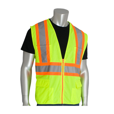 ANSI Class R2 11-Pocket Surveyer's Safety Vest