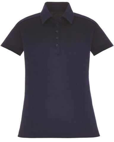 Ash City Extreme Ladies Fluid Melange Polo-Night