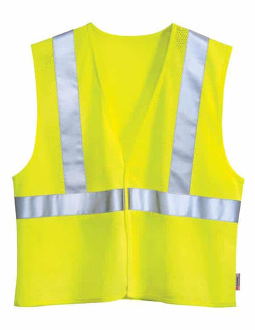 Zone Mesh Safety Vest-Safety Yellow