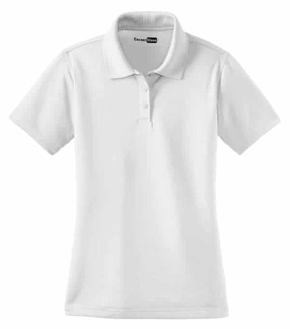 Cornerstone Select Ladies Snag-Proof Polo-White