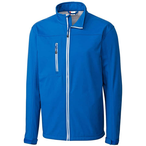 Clique Men's Telemark Soft Shell Jacket-Royal