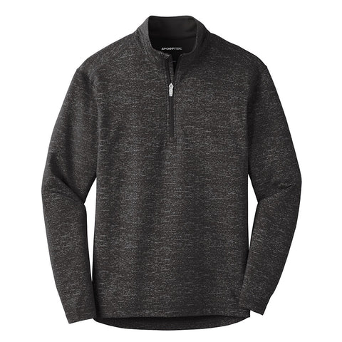 Men's Sport-Tek Reflective Heather 1/2-Zip
