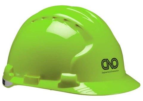 Evolution Deluxe 6151 Hard Hat-Safety Yellow
