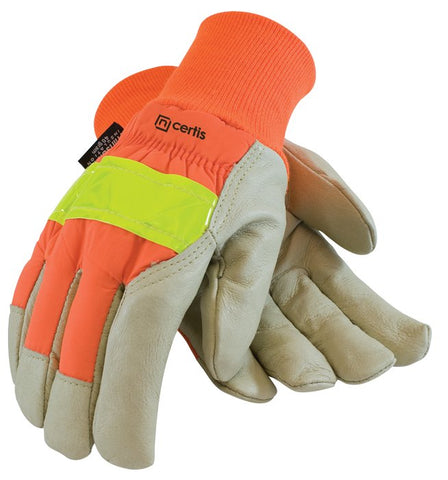 Insulated Pigskin Hi-Vis Glove