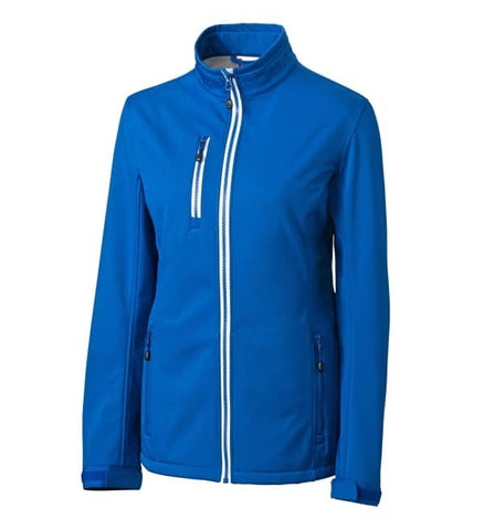 Clique Ladies Telemark Soft Shell Jacket-Royal