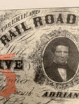 Railroad Paper Currency Replicas - SET 1