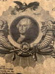 George Washington Founding Father of The United States - Parchment Timeline