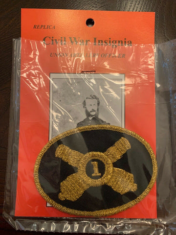 Civil War Union Artillery Officer Replica Insignia