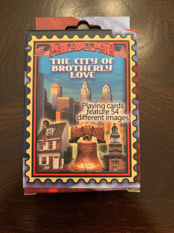 Philadelphia the City of Brotherly Love Souvenir Playing Cards