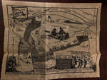 VALLEY FORGE MAP POSTER PARCHMENT DOCUMENT REPRODUCTION NEW