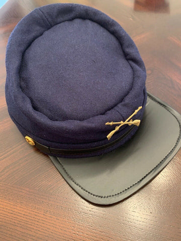 Union Soldier Wool Kepi - Youth Large