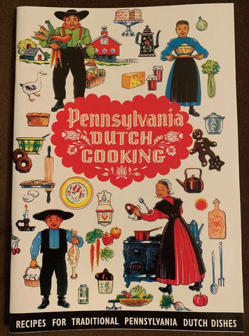 PA Dutch Cooking Booklet
