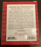 American Presidents - Knowledge Cards