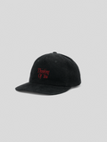 Thinking Of You Cap (Black/Red)