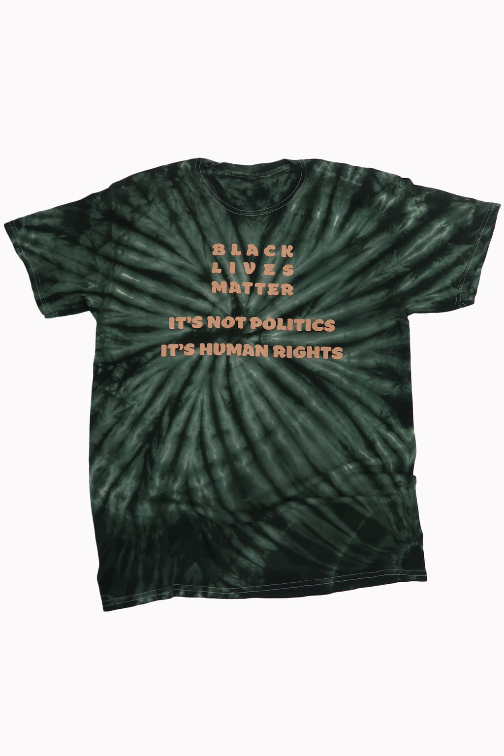 Human Rights Shirt in Forest Green - Trunk Series
