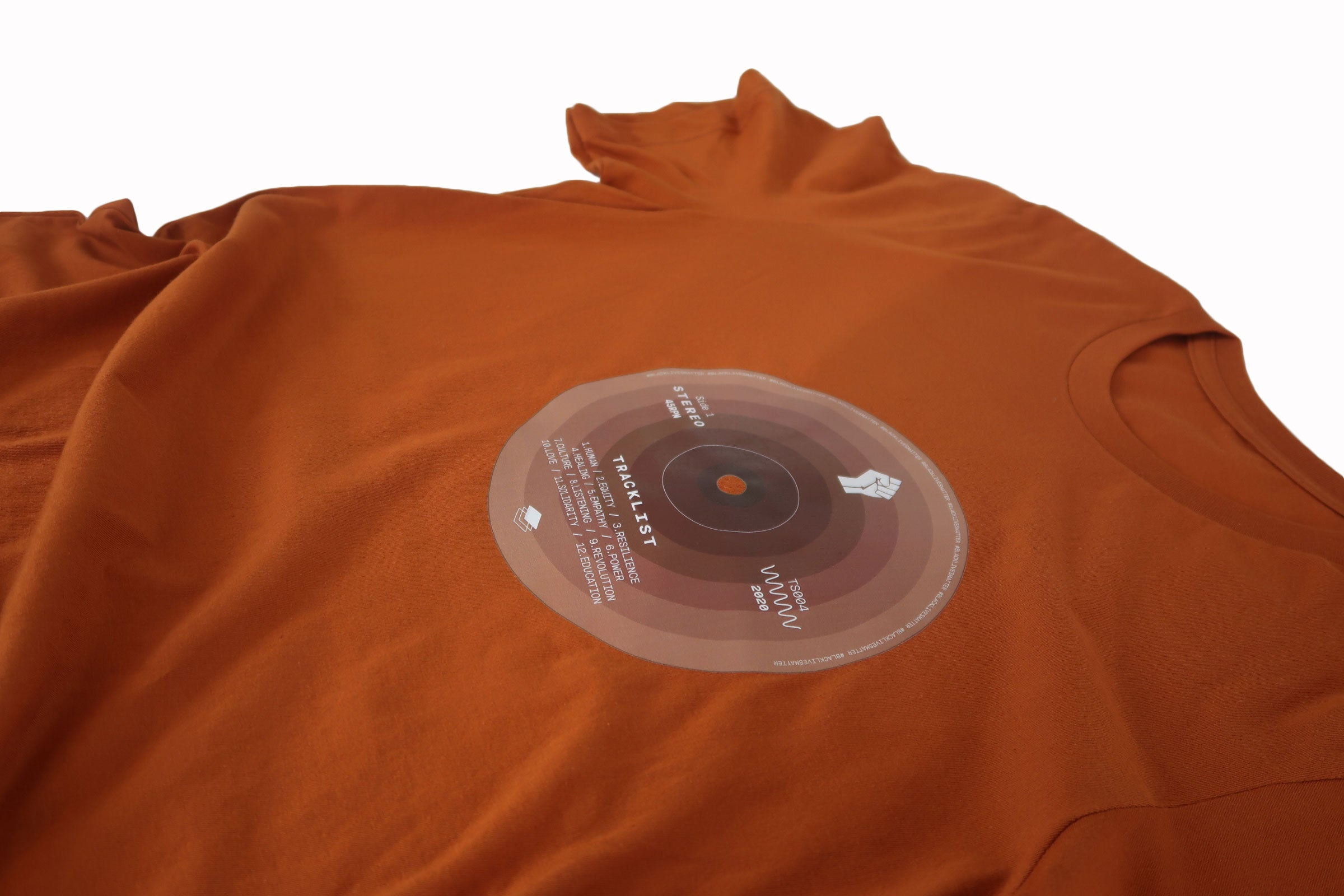 BLM Record Shirt in Autumn - Trunk Series, LLC