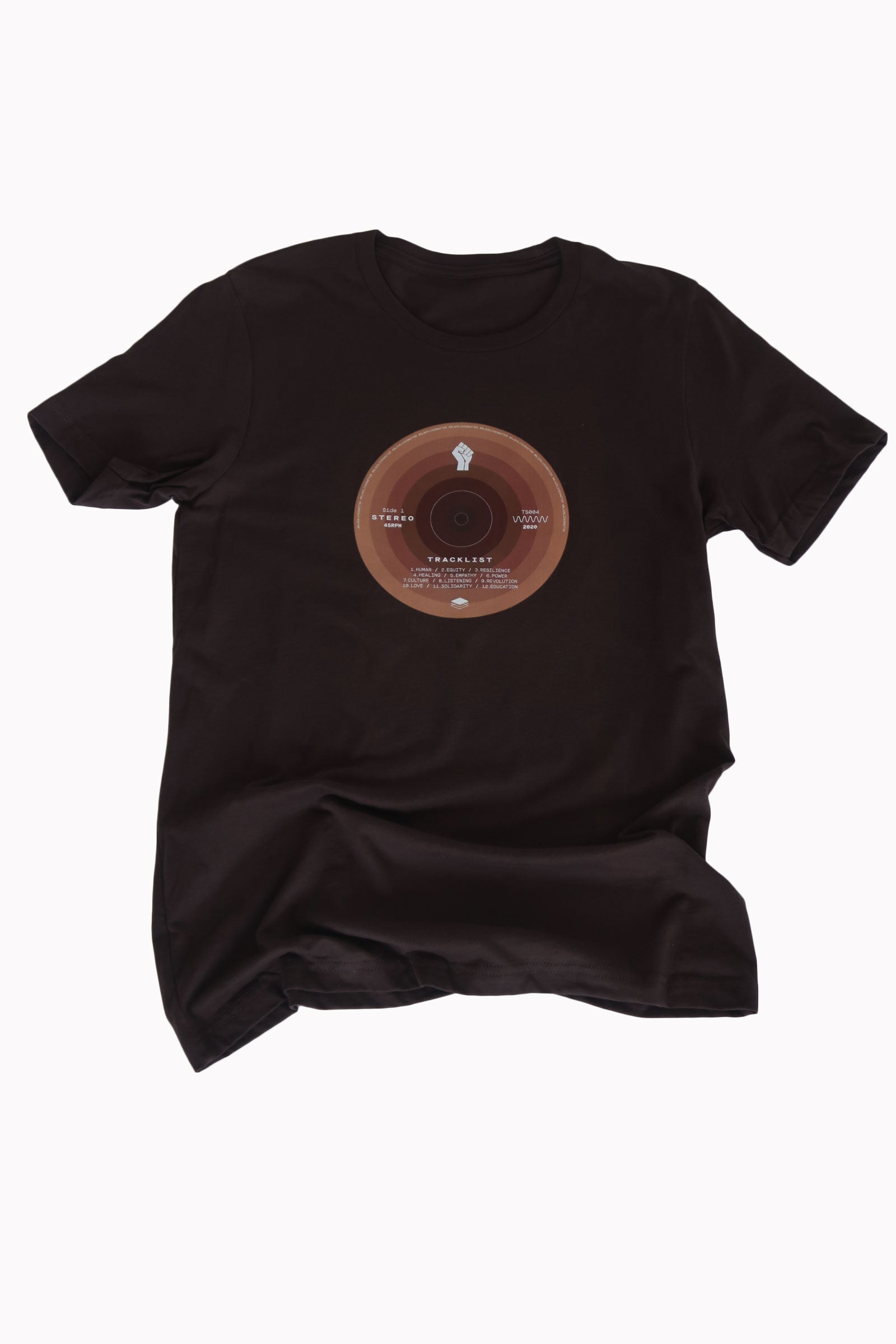 BLM Record Shirt in Brown - Trunk Series