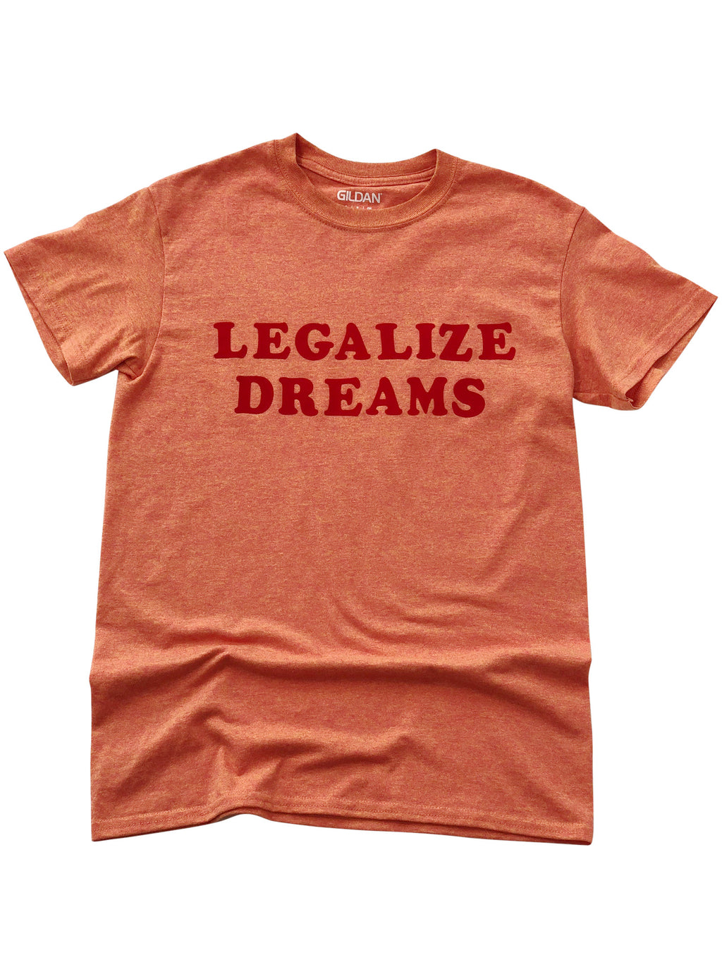 Legalize Dreams Shirt in Light Orange - Trunk Series