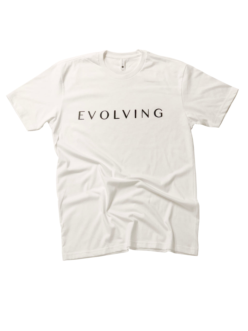 Evolving Shirt in White - Trunk Series, LLC