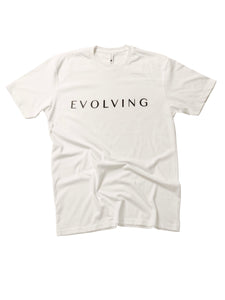 Evolving Shirt in White - Trunk Series