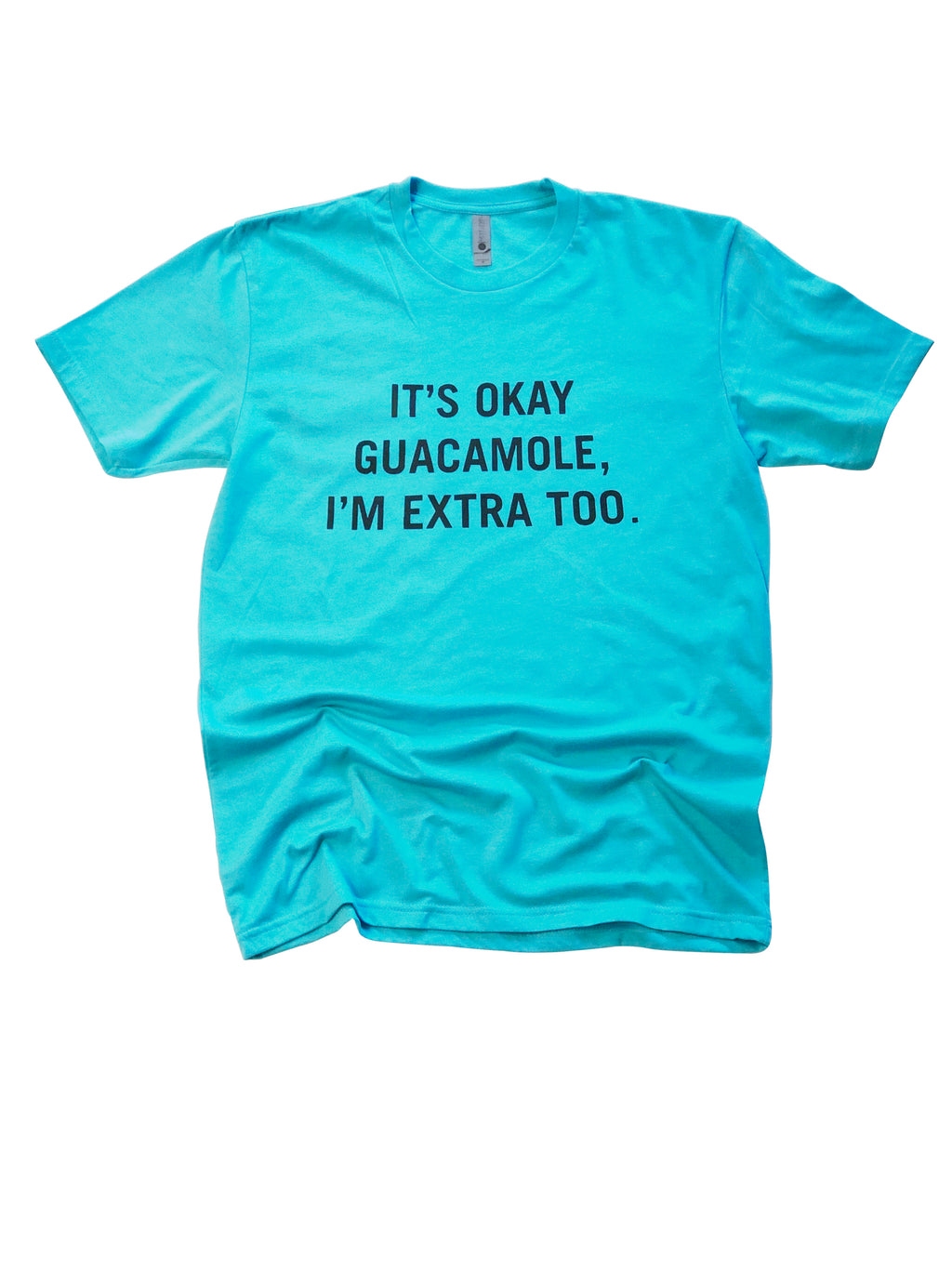 Extra Guac Shirt in Aqua - Trunk Series, LLC