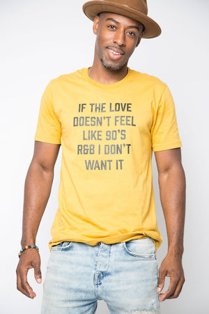 90's Love Shirt in Mustard - Trunk Series
